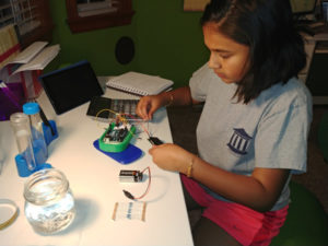 Developing a Technology for Water Quality Testing (CEFF 4 Kids Event) @ FOSS Theater