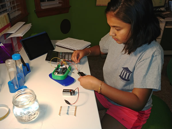 Developing a Technology for Water Quality Testing (CEFF 4 Kids Event)